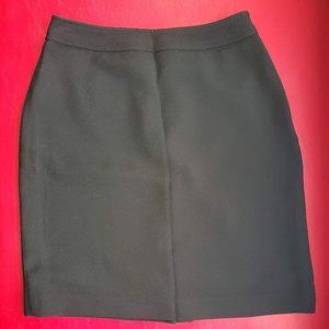 Black business wear pencil skirt